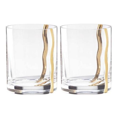 $80.00 Mezza Double Old Fashioned Glasses Set of 2