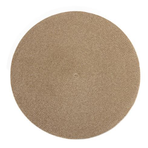 """$32.50 Glimmer 15"""" Gold Dust Placemat"""