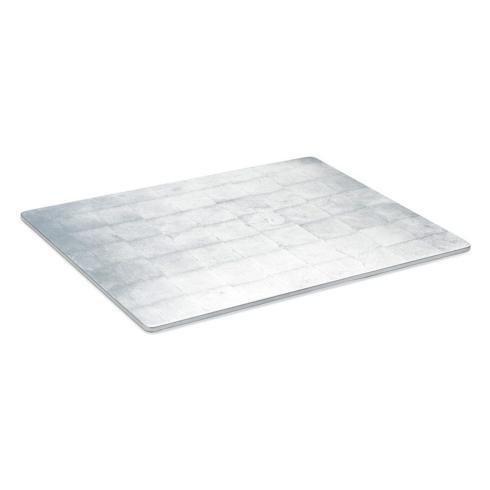 $40.00 Silver Lacquer Silver Place mats Square