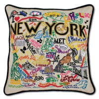 $168.00 New York City Pillow
