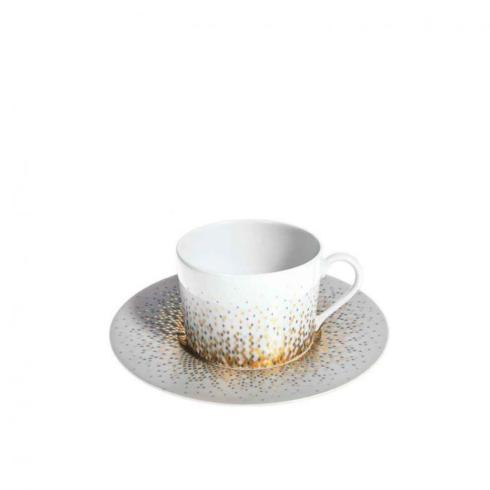 $130.00 Haviland Souffle d\'Or Tea Cup and Saucer