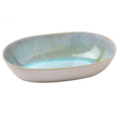 $42.00 Casafina Ibiza Sea - Medium Oval Serving Bowl