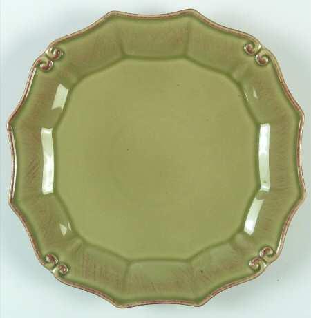 $25.00 Salad Plate - Vintage Port (Green)