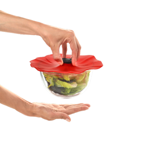 """$10.00 Silicone Lid - Poppy Small 6"""""""