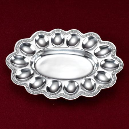 $35.00 Baded Aluminum Egg Tray
