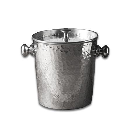 $34.50 Hammered Ice Bucket wLid