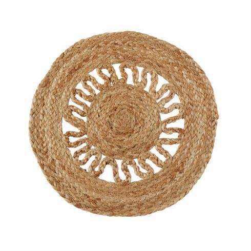 $12.50 Placemat - Jute Round