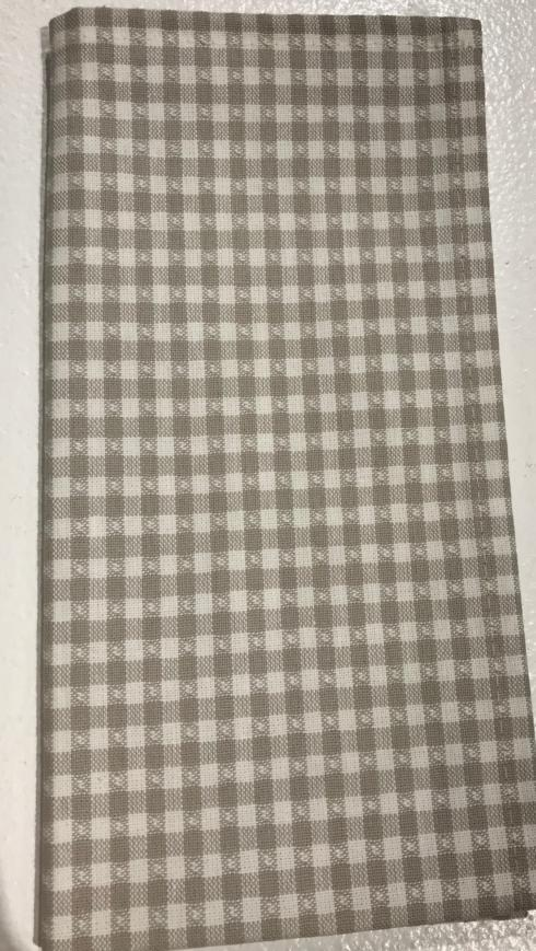 $10.00 Napkin - Gray Check