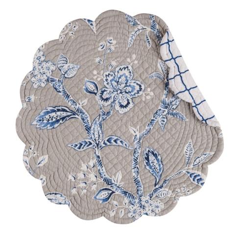 $11.00 Placemat Annabelle Blue