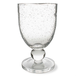 $11.50 Bubble Glass Goblet