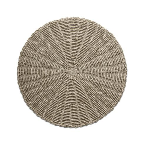 $13.50 Placemat - Gray Wicker