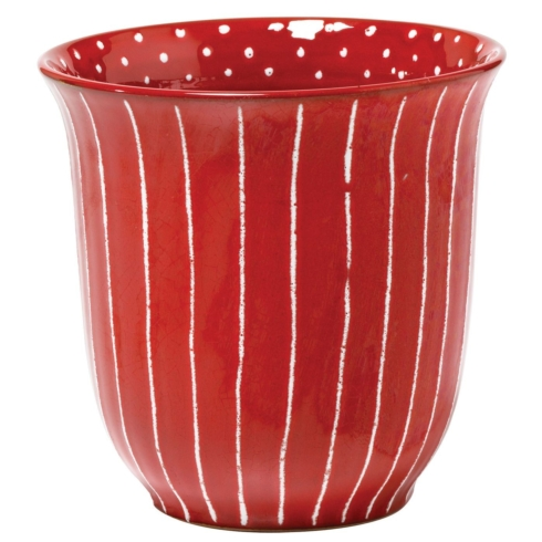 $69.00 Red Cachepot