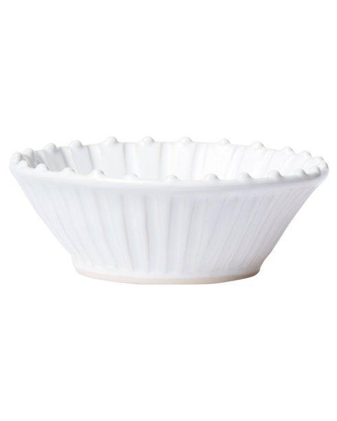 $44.00 Vietri - Incanto Stone White Stripe Cereal Bowl