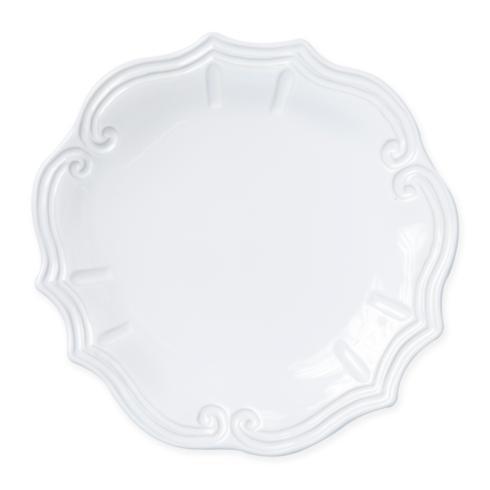 $50.00 Vietri - Incanto Stone White Baroque Dinner Plate