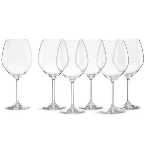 $45.00 Tuscany Classics Red Wine Glasses Buy 4 Get 6