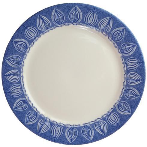 """$36.00 Dinner Plate 11.5"""" Blue -C-"""