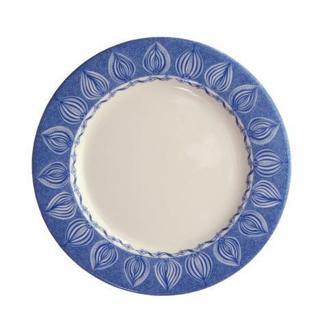 "$26.00 Bread Plate 7.5"" Blue -C-"