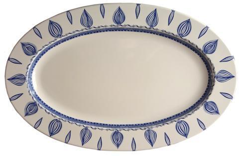 """$78.00 Oval Platter 15.5"""" White"""