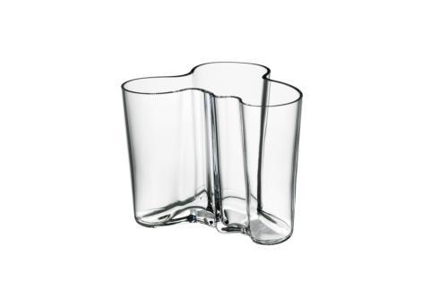 "$64.00 Vase 3.75"" Clear"