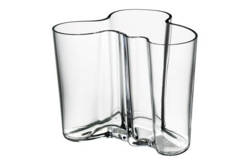 """$120.00 Vase  4.75"""" Clear"""