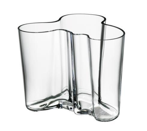 "$180.00 Vase 6.25"" Clear"