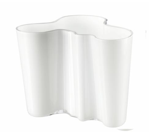 """$195.00 Vase 6.25"""" White"""