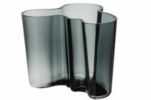 """$125.00 Vase 4.75""""  Dark Grey"""