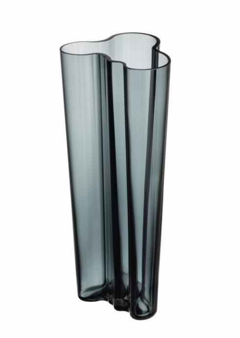 """$195.00 Vase 10.25"""" Dark Grey"""