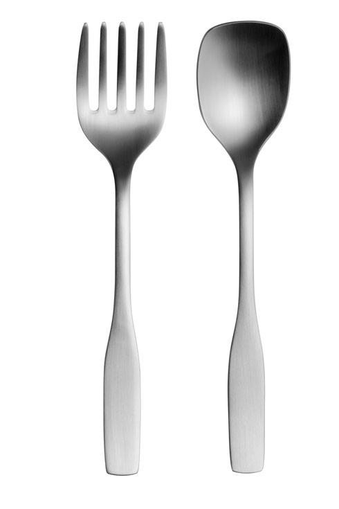 $70.00 2 Pc Stainless Steel Serving Set