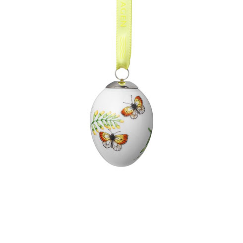 $35.00 Easter Egg Yellow Butterflies 2.5""