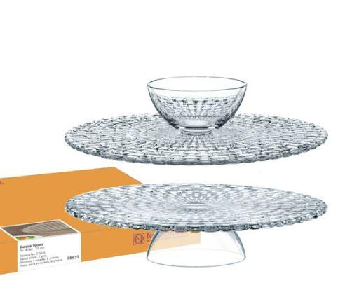 $69.99 FOOTED CAKE PLATE (OR CHIP & DIP)