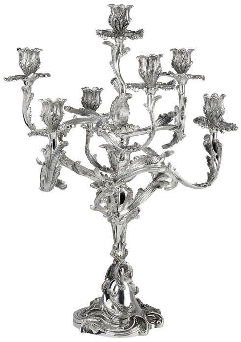 $18,815.00 Rocaille Candelabra - 7 Lights