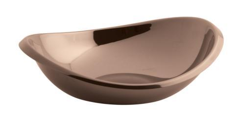 $100.00 Copper Oval Bowl 8 1/2 inch