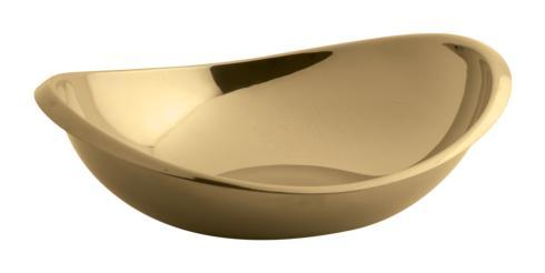 $100.00 Oval Bowl 8 1/2 x 7 1/2 in PVD Cognac