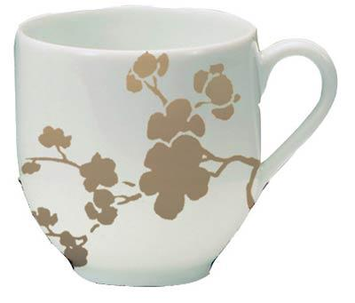 $92.00 Coffee Cup for Black or Yellow Saucer
