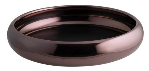 $295.00 Bowl/ Tray w/o Hndl D 12 5/8 in PVD Parfait Amour