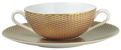 $90.00 Beige Cream Soup Saucer