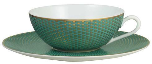 $85.00 Turquoise Tea Saucer