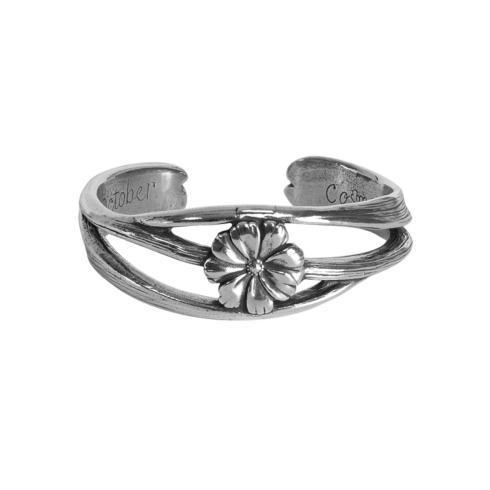 $23.00 Nouveau Flower of the Month Bracelet - October