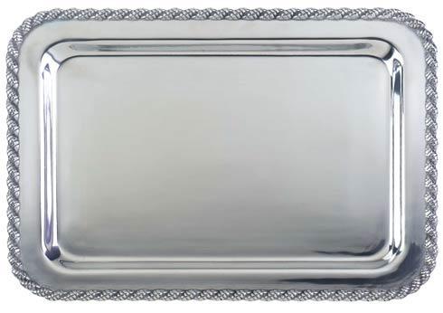 "$44.00 Masthead Small Rectangular Tray, 9 ¼"" x 6 ¼"""