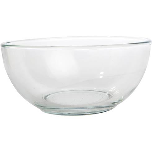 "$12.00 Glass Dip Bowl, 6 ½"" dia."