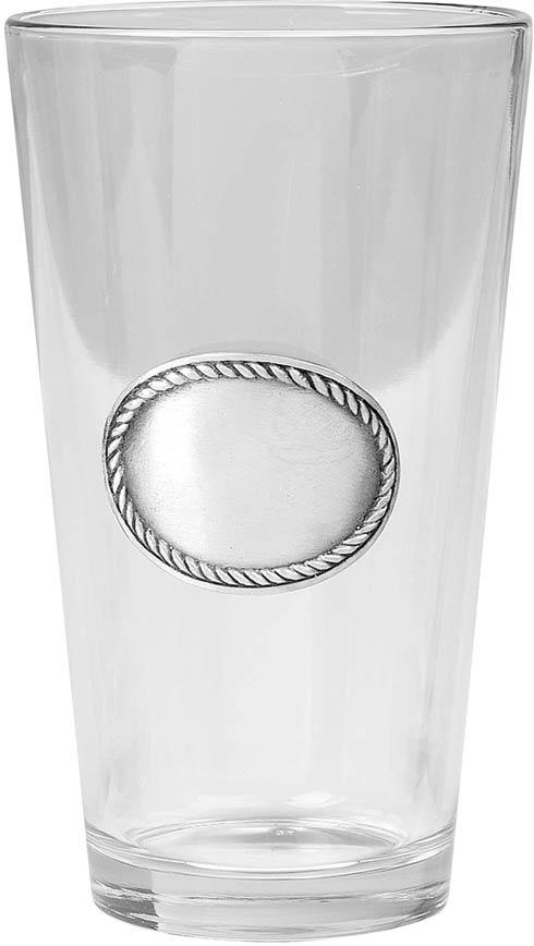 $52.00 Rope Edge Pint Glass, set of 4