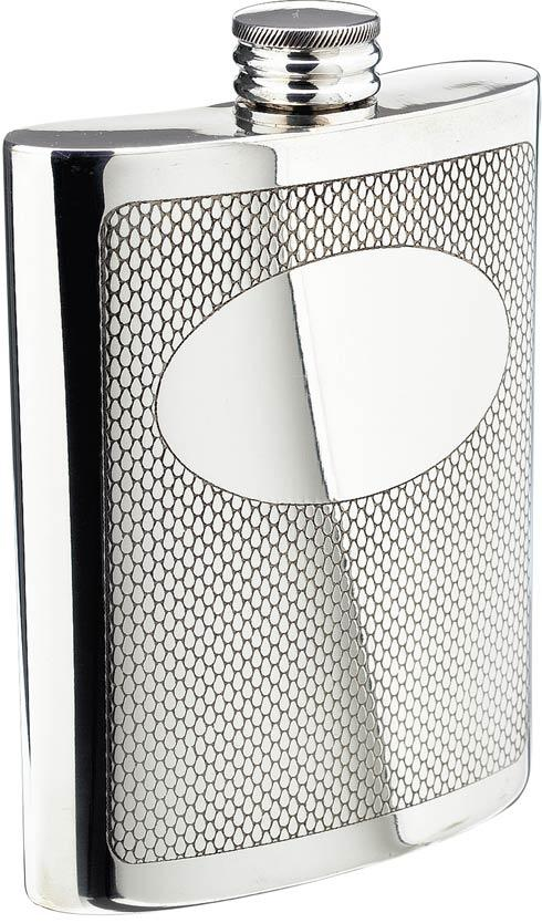 $68.00 Embossed Flask, 6 oz.