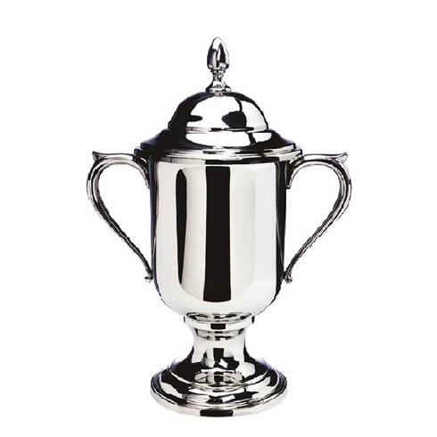 "$470.00 Medium Loving Cup with Lid, 10"" tall"