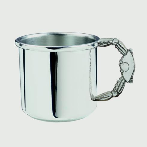 $44.00 Crab Handle Baby Cup