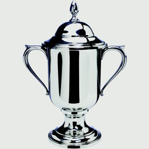 "$520.00 Large Loving Cup with Lid, 12 3/4"" tall"