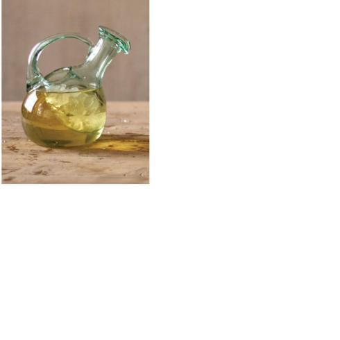 $75.00 Tilted Wine Decanter With Ice Pocket