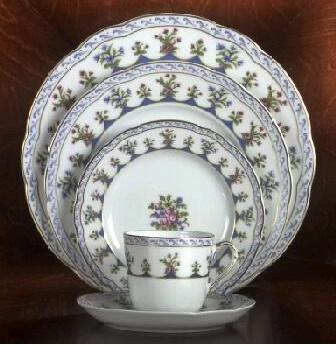 $55.00 Chateaubriand Blue Saucer