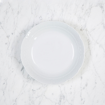 """$26.00 Weave White 7.5"""" Cereal Bowl"""