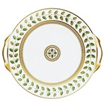 """$390.00 Constance Cake Platter With Handles  11"""""""